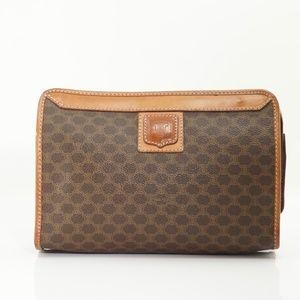 Celine Macadam Pouch Clutch Bag #811O35